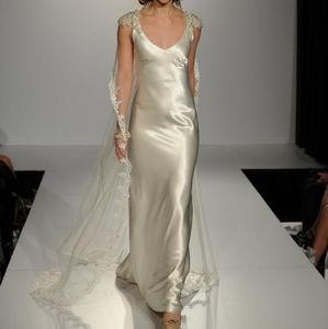 Antique Ivory Emilena Formal Wedding Dress